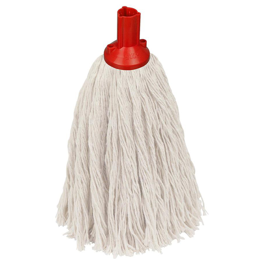 12oz Twine Socket Mop Head - Red
