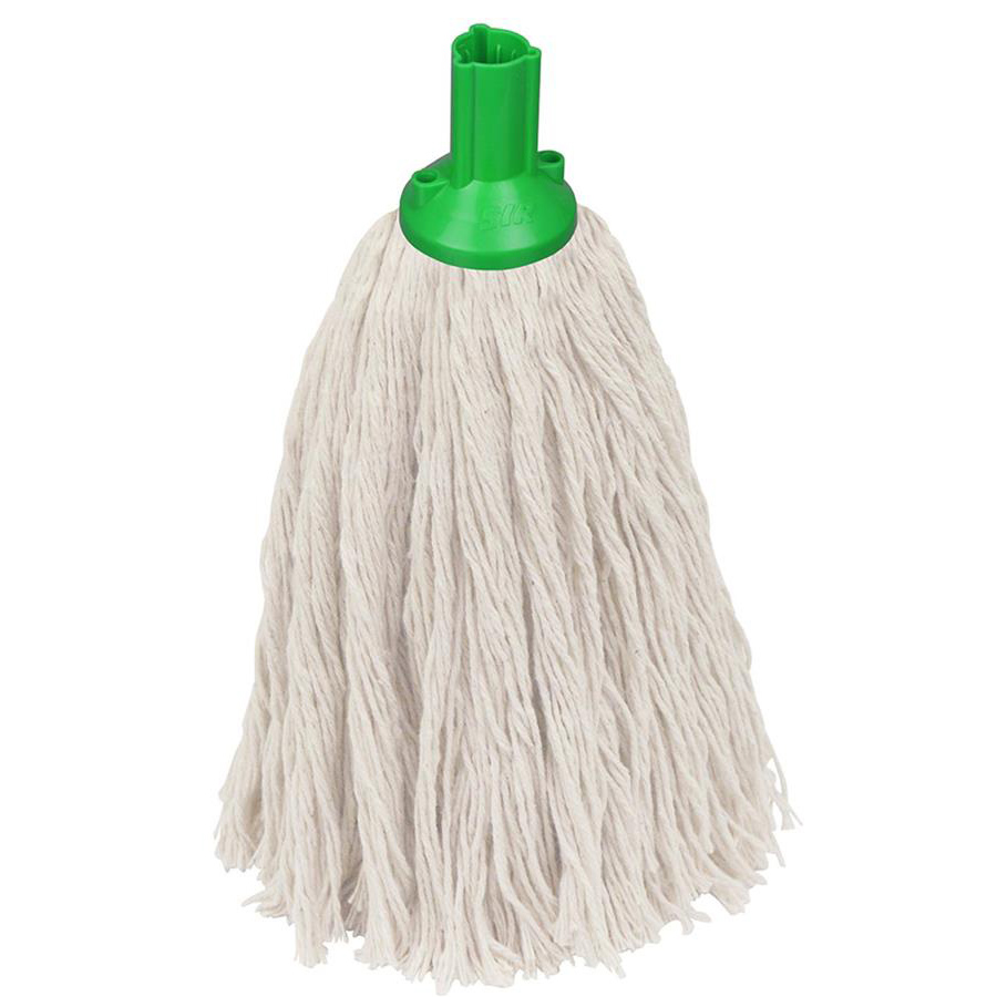 16oz Twine Socket Mop Head - Green