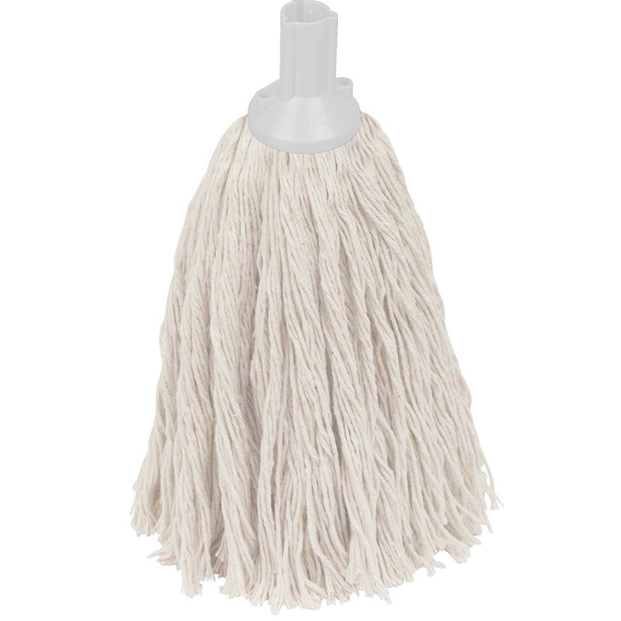 16oz Twine Socket Mop Head - Grey