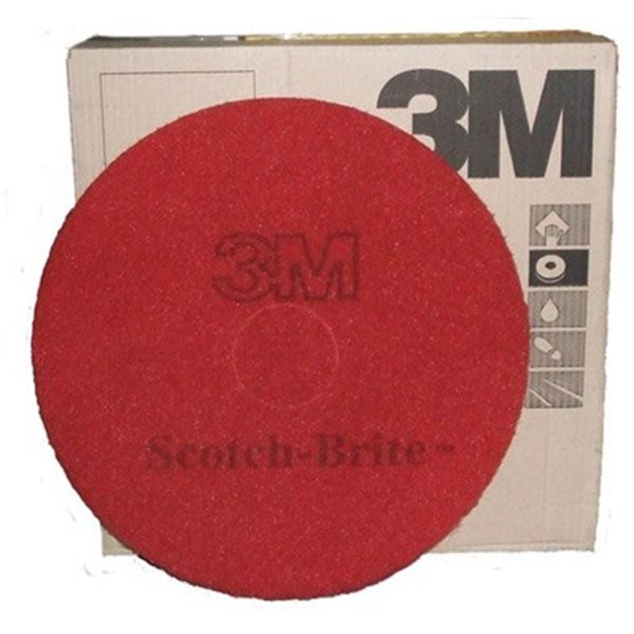 3M PREMIUM Floor Pads - Red 16""