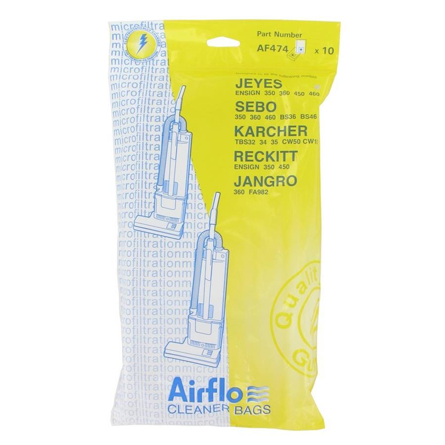 AF474 - Pattern bag for Sebo 360 upright / Reckitt Ensign 1x10