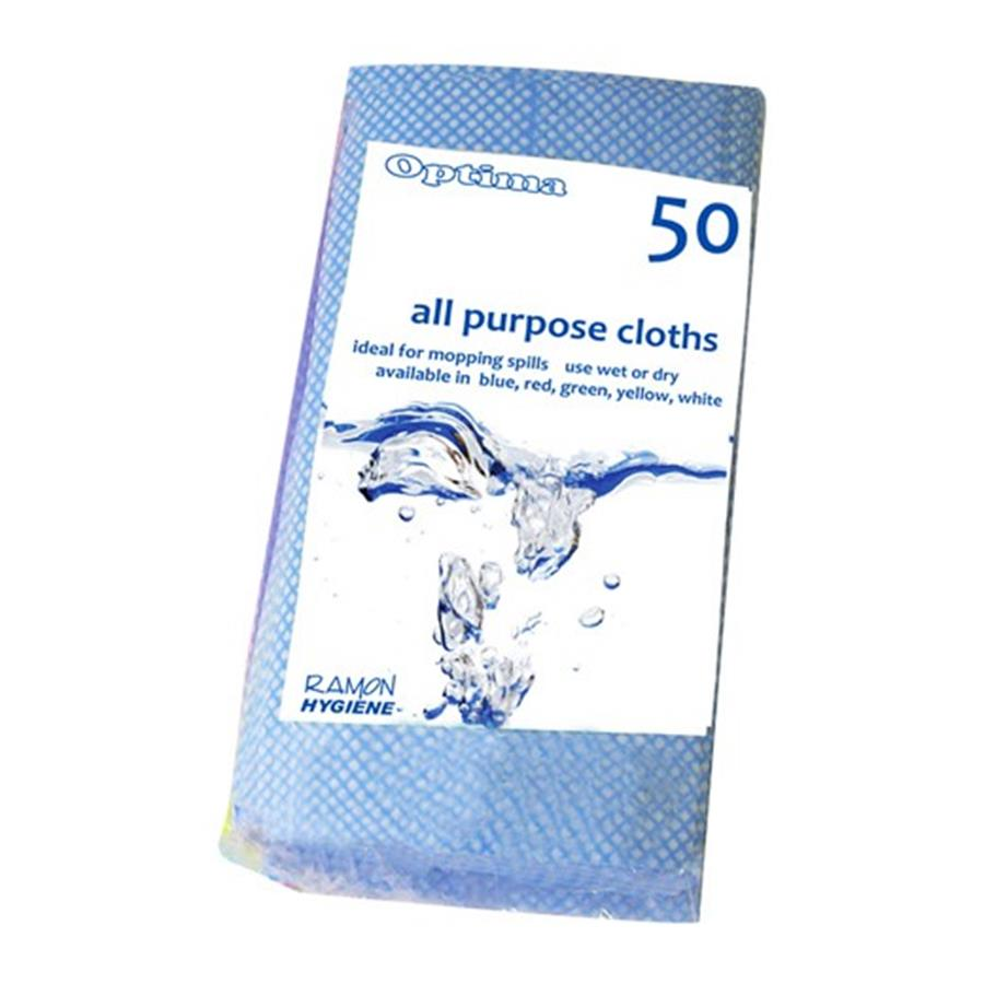 All Purpose Cloth Blue pack x 50
