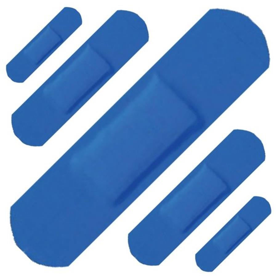 Assorted Blue Plasters (120)