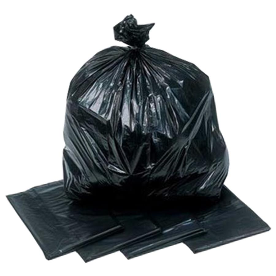 Black Refuse Sacks (Light duty) 18 x 29 x 39""