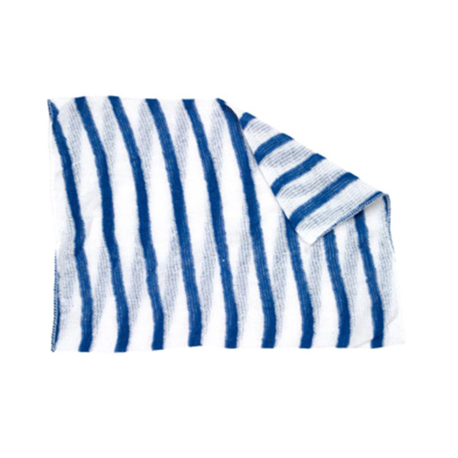 Stripe Dishcloth x 10 - Blue