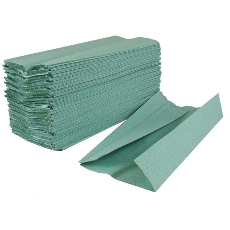 C-Fold Green Paper Towel 1 ply