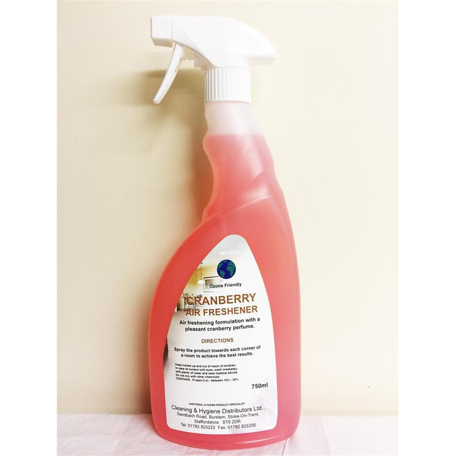 CHD Trigger Air Fresh - Cranberry 6 x 750ml