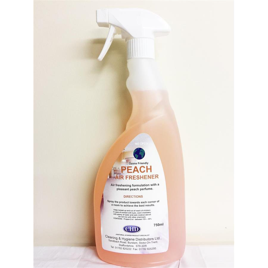 CHD Trigger Air Fresh - Peach 6 x 750ml