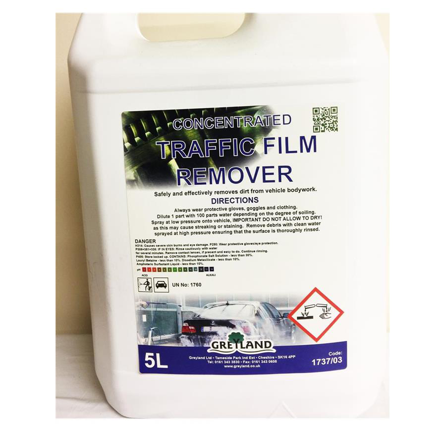 CHD Conc. Traffic Film Remover 5ltr