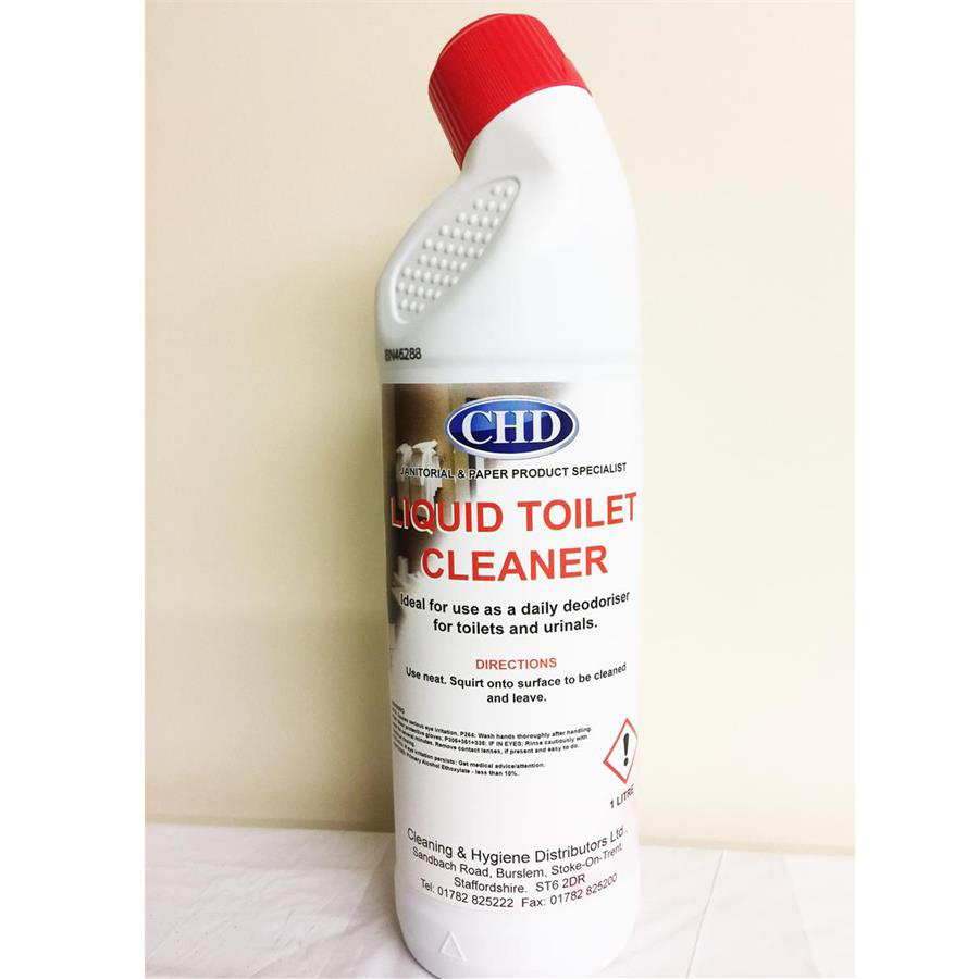 CHD Liquid Toilet Cleaner 1ltr