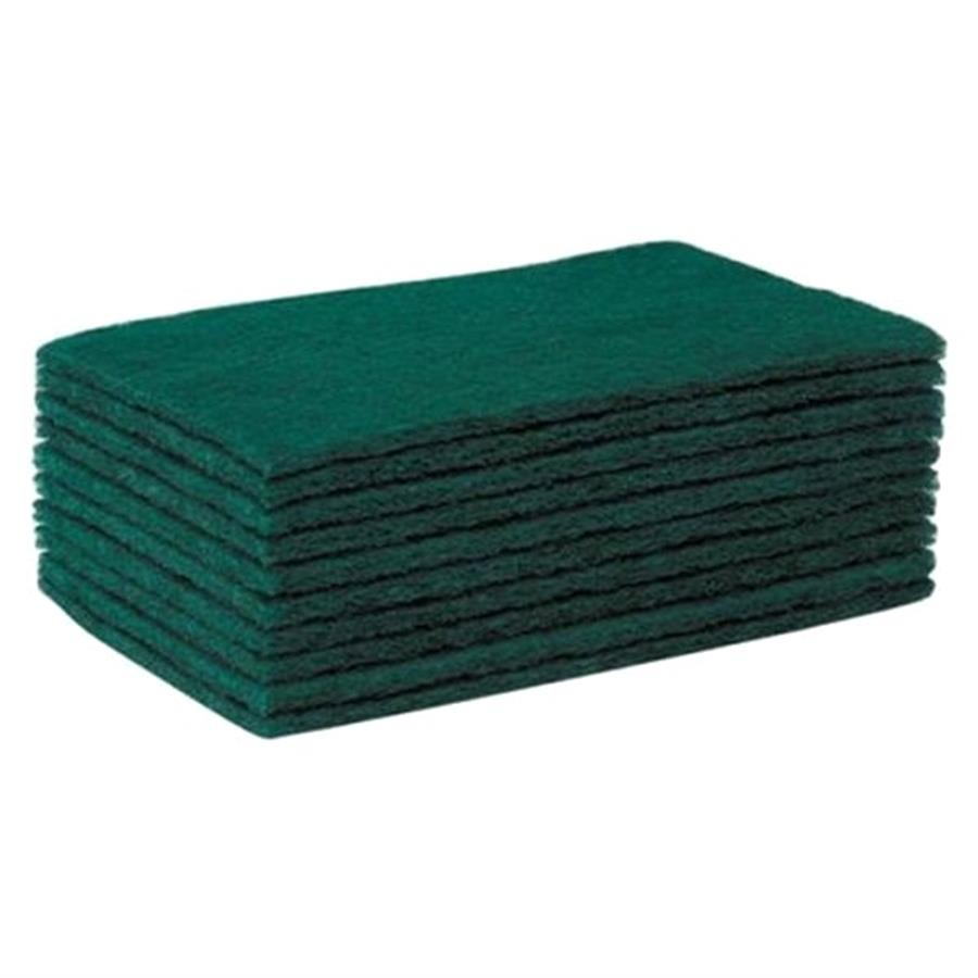 "Green 9 x 6"" Contract Scourers  1 x 10"""