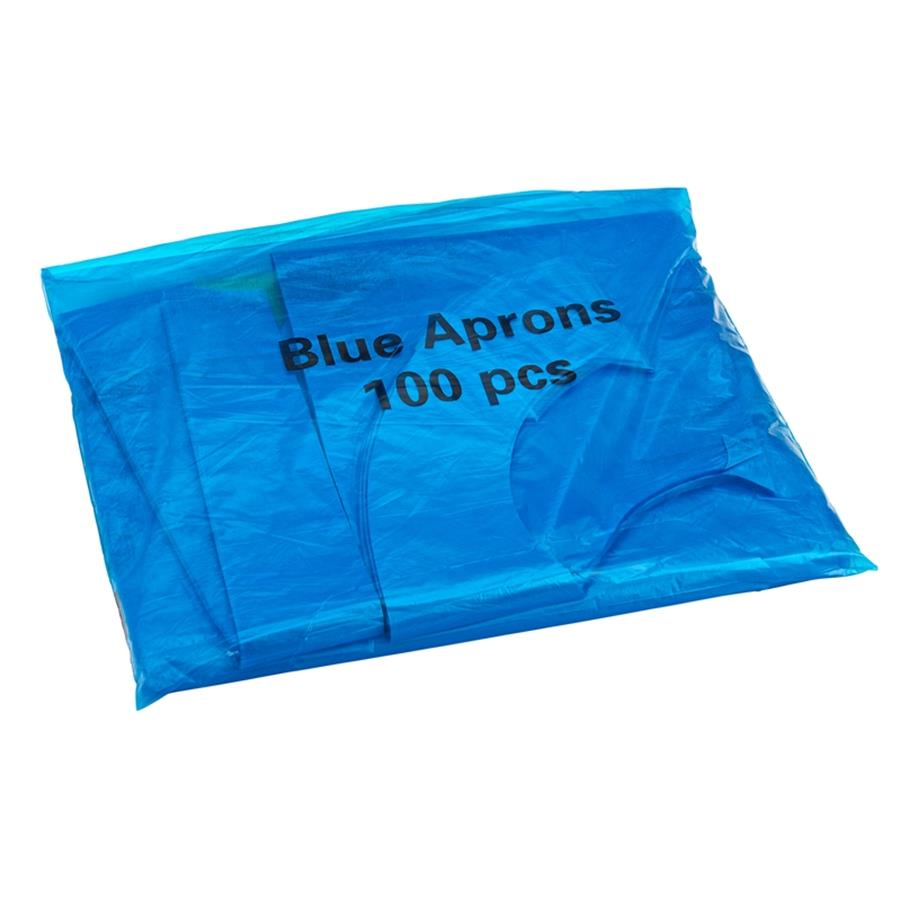 Disposable Aprons Blue