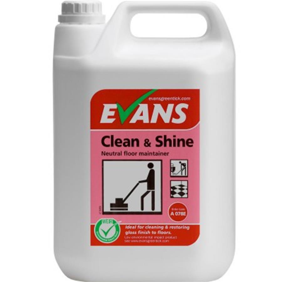 Evans Clean & Shine 5ltr