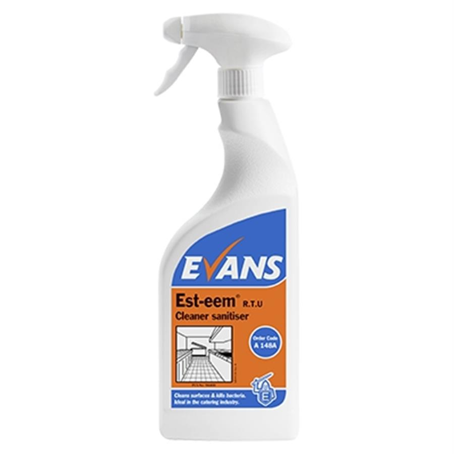 Evans Est-eem RTU 750ml - Cleaning and Hygiene Distributors
