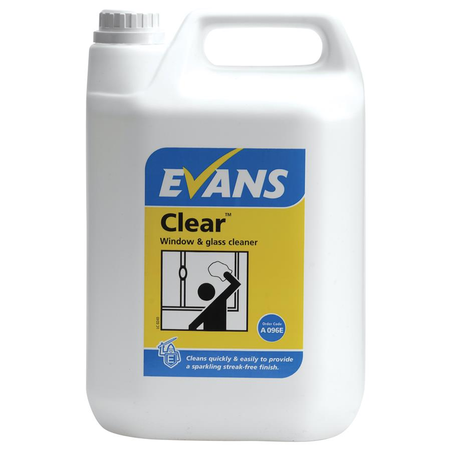 Evans Clear 5ltr