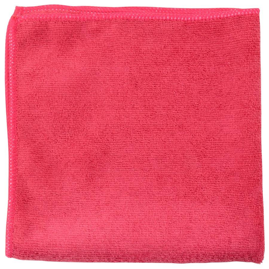Microfibre Cloths (Premium) pack x 5 - Red