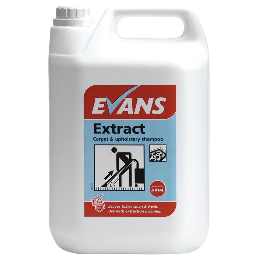 Evans Extract Pro - Carpet Shampoo 5ltr