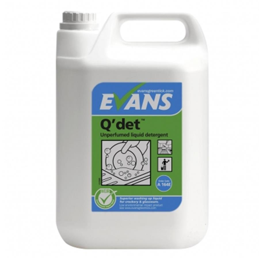 Evans Q-Det Washing Up Liquid 5 ltr