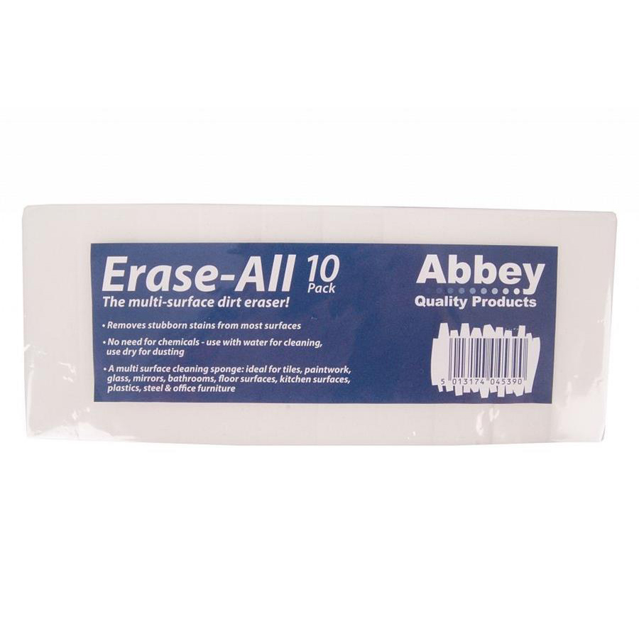 ABBEY Erase-All magic sponge