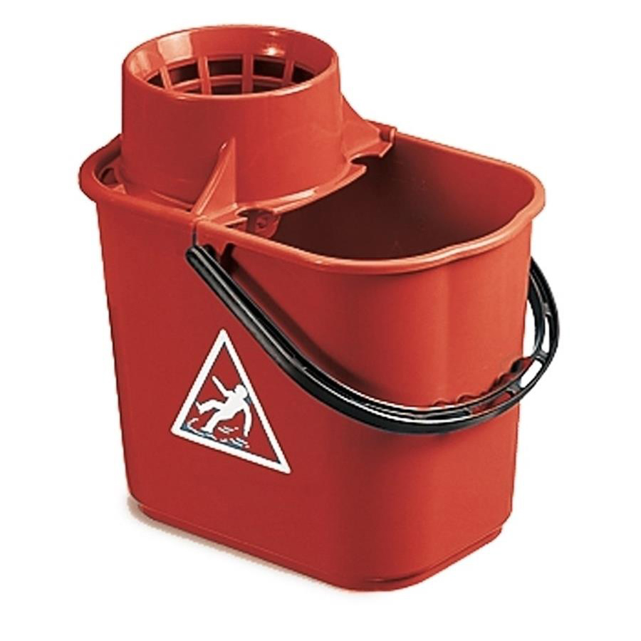Exel Mop Bucket 15ltr - Red