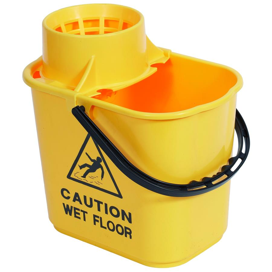 Exel Mop Bucket 15ltr - Yellow