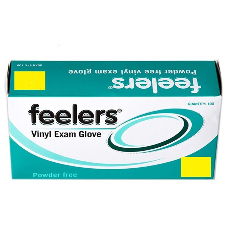 Vinyl Powder-Free Gloves 1 x 100 - Small