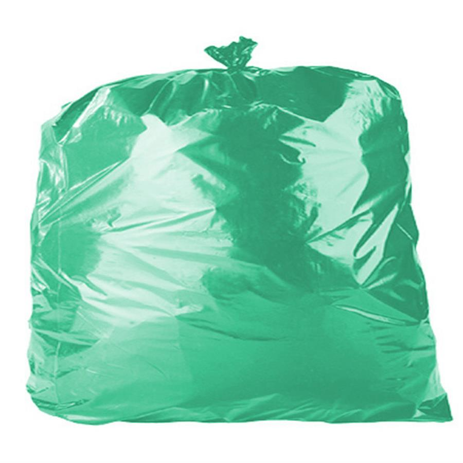 Green Refuse Sacks 18 x 29 x 39""