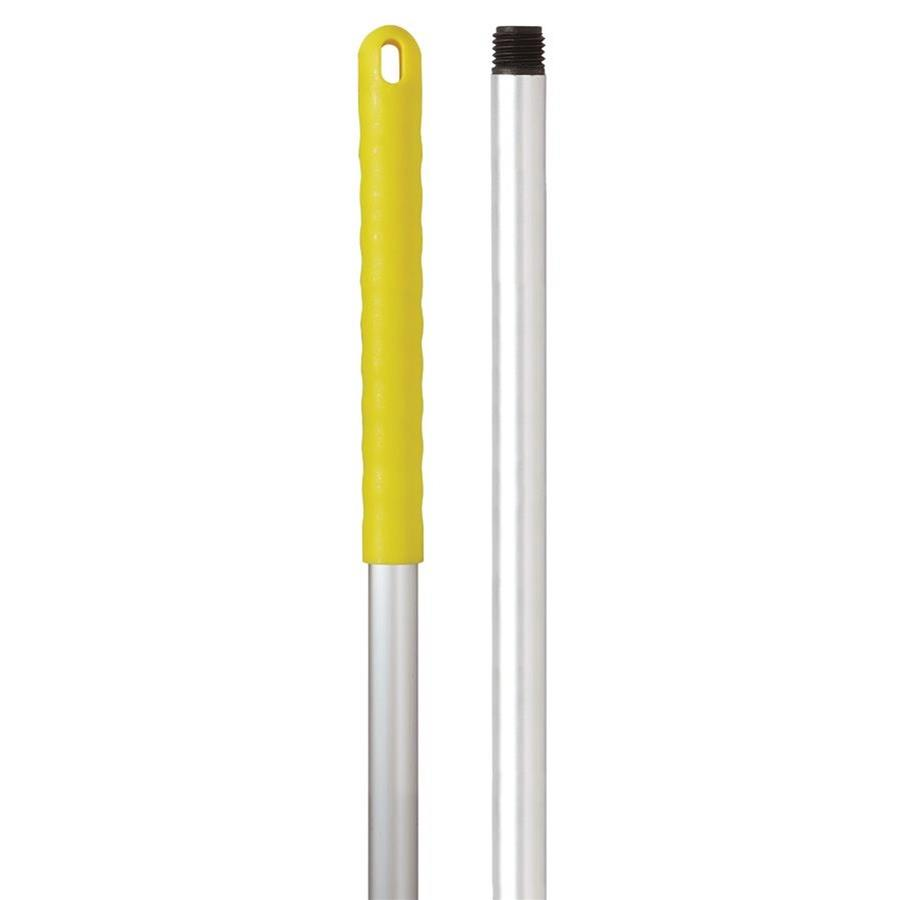 Aluminium 120cm Hygiene Handle - Yellow