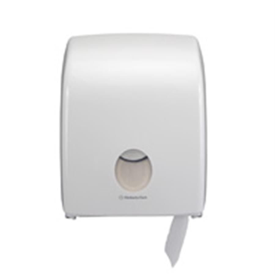 KC6958 Aquarius Single Mini Jumbo Toilet Roll Dispenser