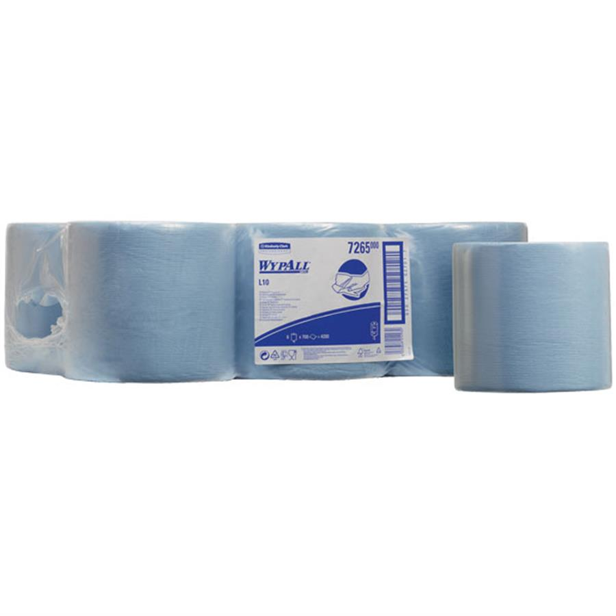 KC7265 Wypall L10 Wipers - Centrefeed Rolls Blue