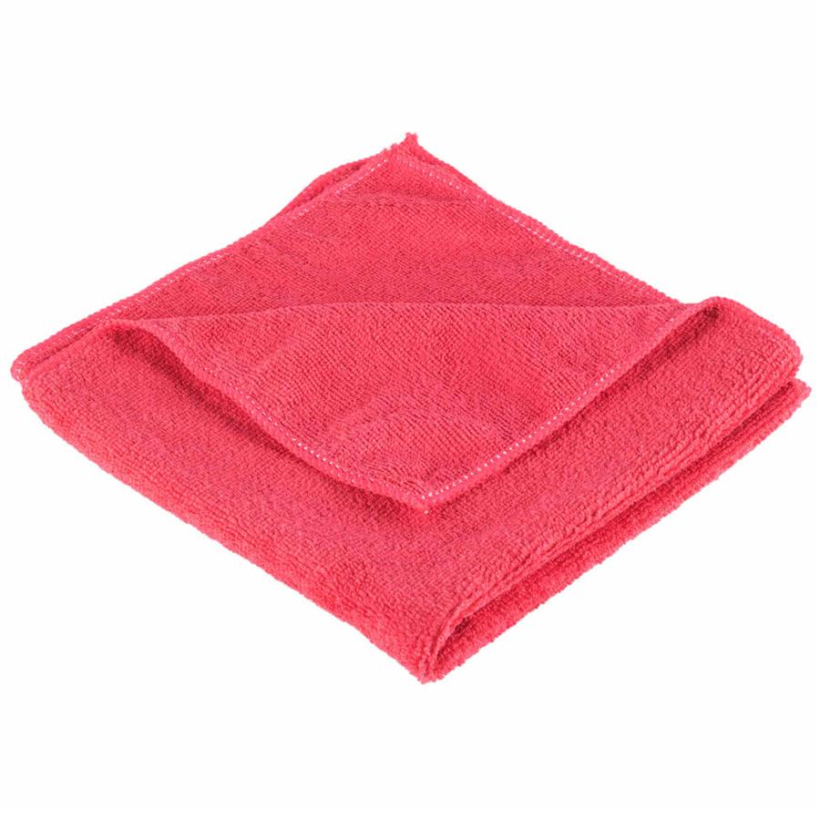Microfibre Cloth Red - Singles