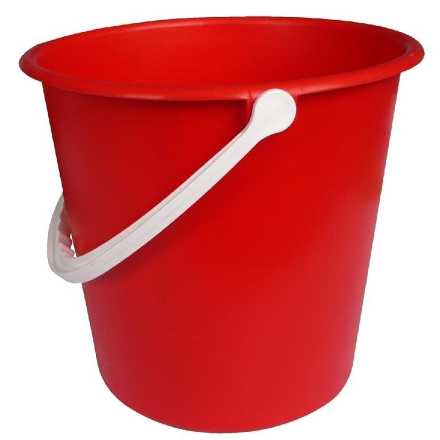 2 gallon bucket - Red
