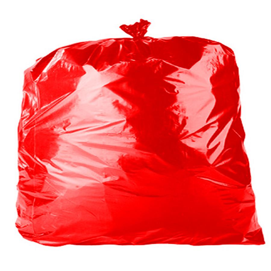Red Refuse Sacks   18 x 29 x 39""