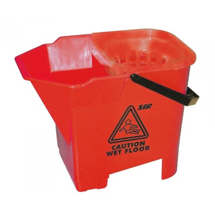 Freedom Bull Dog Mop Bucket Red