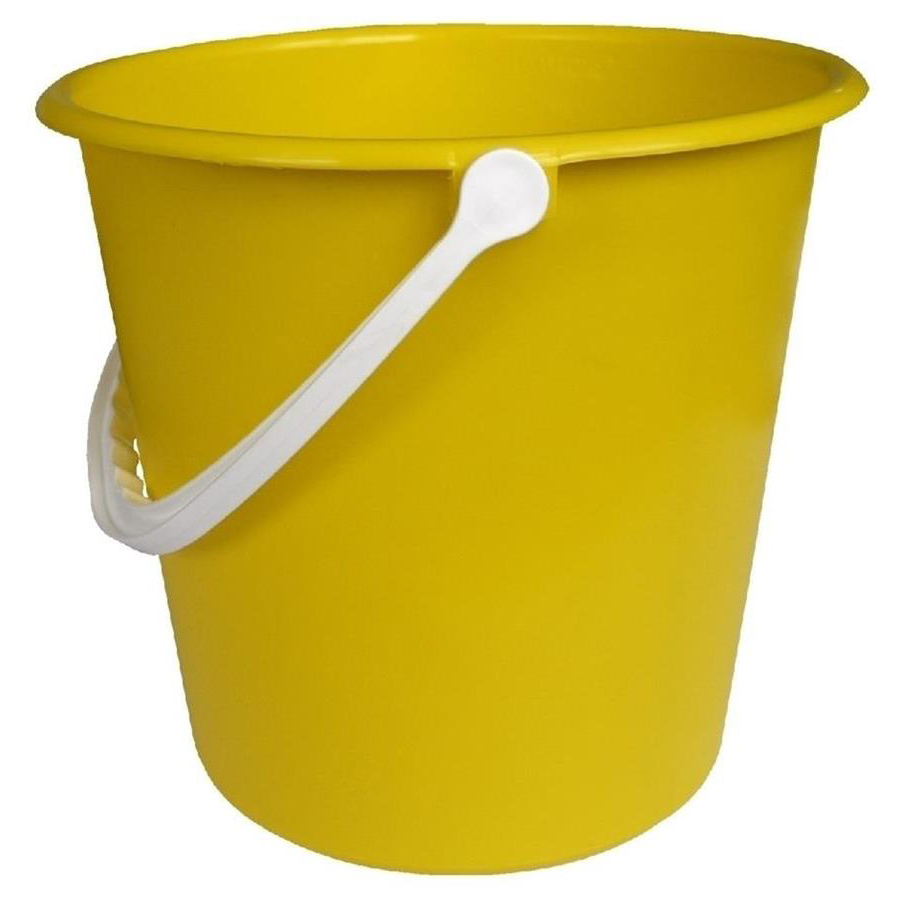 2 gallon bucket - Yellow