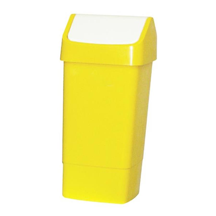 Swing Bin - 45/50ltr Plastic - Yellow