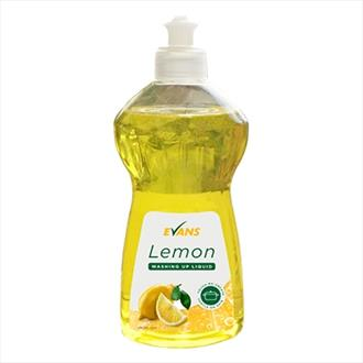 Evans Lemon Washing Up Liquid 500ml