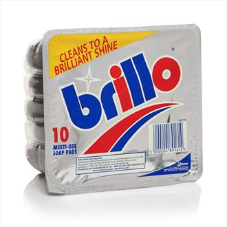 Brillo Soap Pads x 10