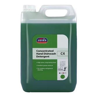 Jeyes C4 Concentrated Hand D/W Detergent 5ltr