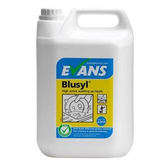 Evans Blusyl Washing Up Liquid 5ltr