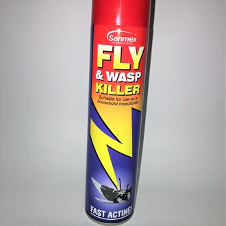 Fly and Wasp Killer Spray 300ml
