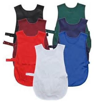 Tabards with Pockets Large & Extra Large (All Colours)