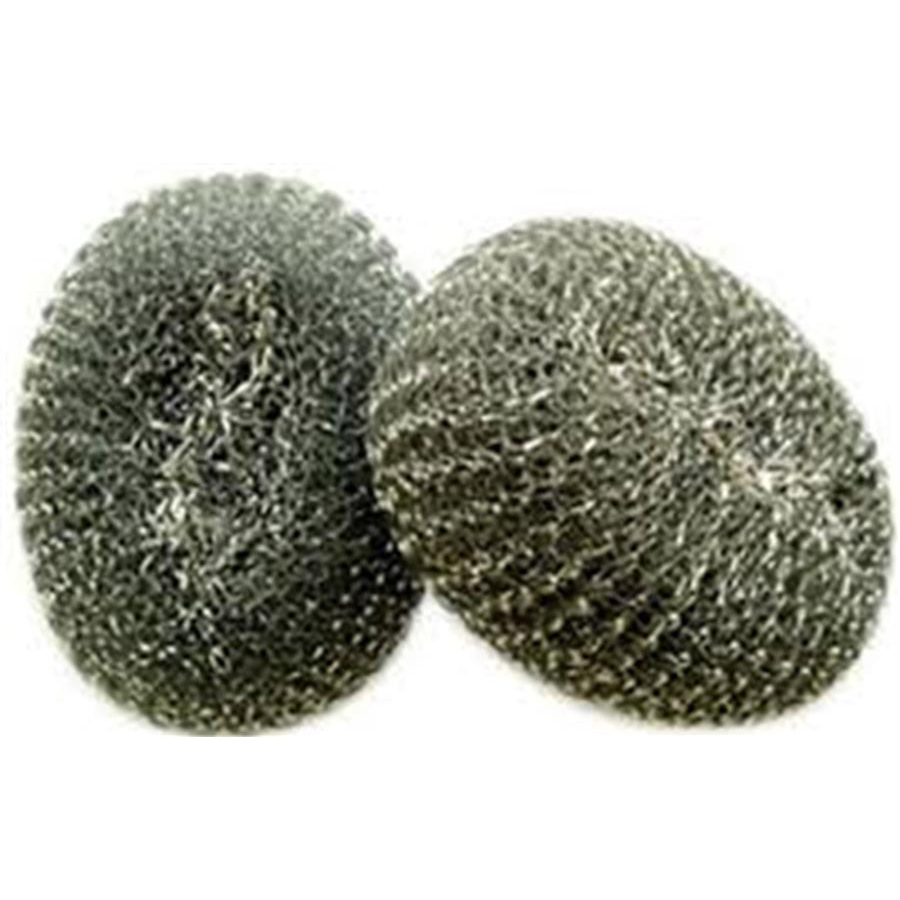 Stainless Steel Scourer 40g  pack x 10
