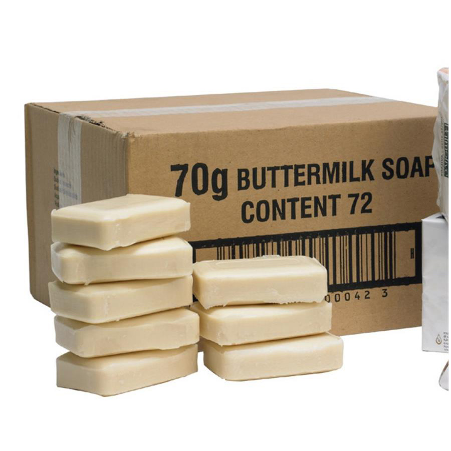 Buttermilk Toilet Soap 72 x 70gm