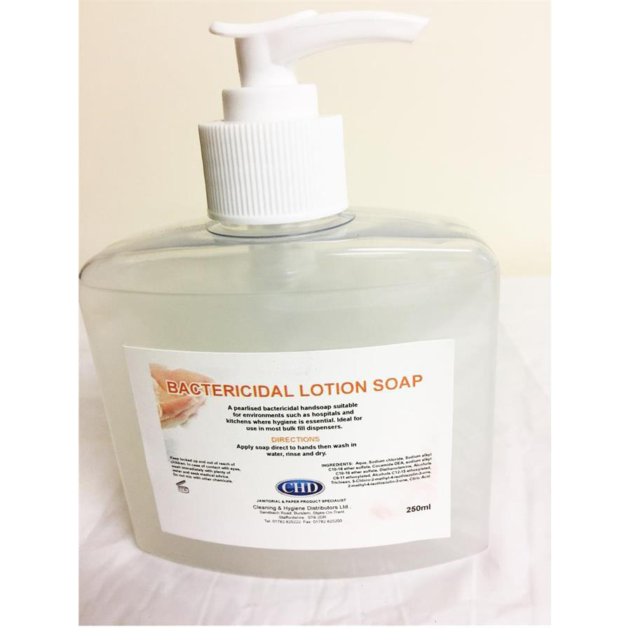 CHD Bactericidal Lotion Soap 250ml
