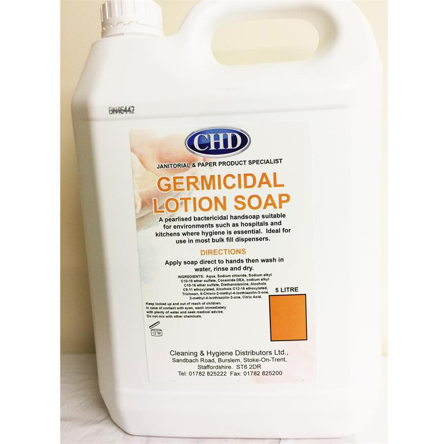 CHD Germicidal Lotion Soap 5ltr