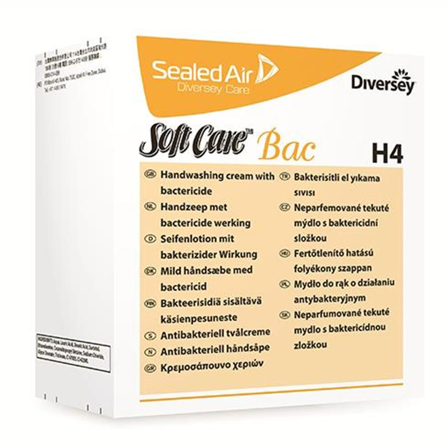 H4 Softcare Bac Liq Soap 6 x 800ml