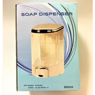 Soap Dispenser - 900ml refillable - Transparent
